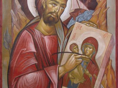 Saint apostle Loukas